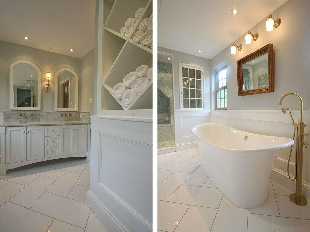 Salle de bain classique Bolton - Designer d\'intérieur à Québec | Bromont